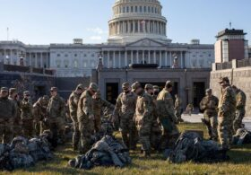 National Guard soldiers booted out of Capitol, forced to sleep in parking garage