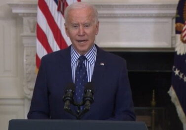 Biden Can Barely Read the Teleprompter as He Tries to Explain why the $1.9 Trillion Covid Bill is