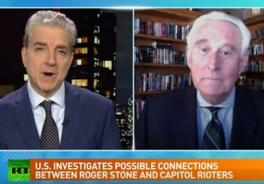 """""""They Want Me to Die In Prison"""" – Roger Stone with Steve Malzberg at RT America (VIDEO)"""