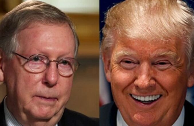 Mitch McConnell Is Asked Directly If He Regrets Condemning Trump After Riots – Desperately Dodges The Question