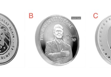 Yes, I'm Giving Away a Free 1 oz 99.99% Pure Silver Trump Coin!  Here's How You Can