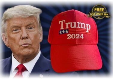 It's Here! Get Your 'Trump 2024' Red Hat For Free (Just Pay S&H)