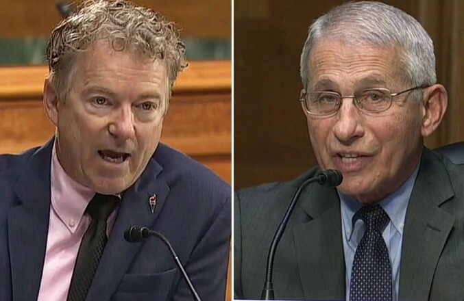 Rand Paul Buries Fauci on NIH Funding for Wuhan Lab: 'you're trying to obscure responsibility for four million people dying' 'It Is a Crime to Lie to Congress'