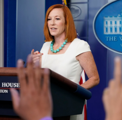 Psaki says the US is going in the wrong direction due to unvaccinated Americans