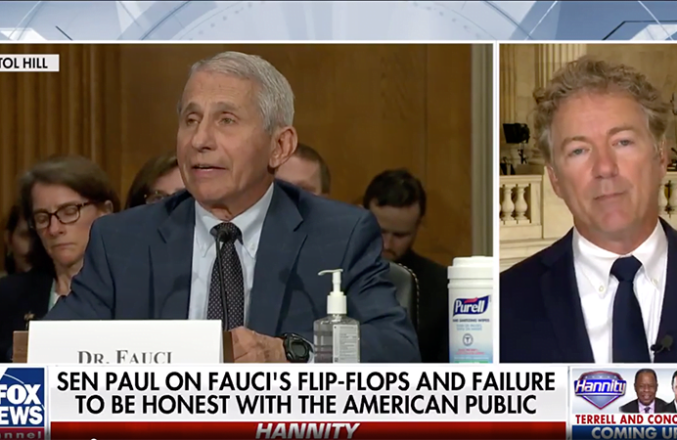 Rand Paul Vows To Ask DoJ For Criminal Referral On Fauci After Blistering Exchange