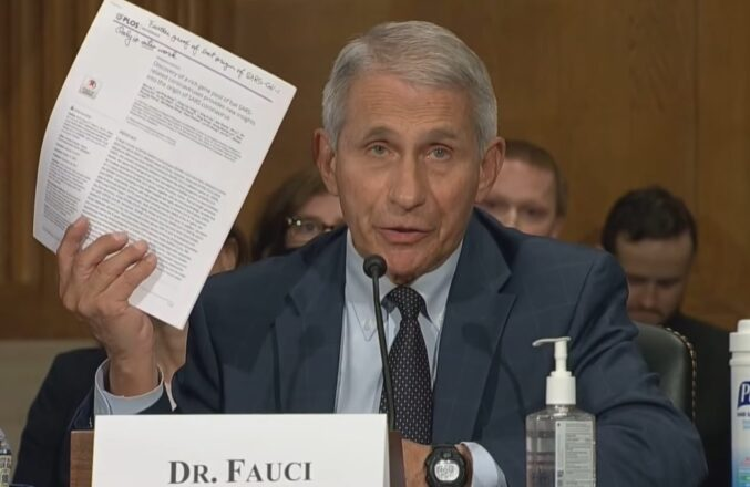 Congress Has Refused To Enforce Perjury, And Now People Like Fauci Lie To Them Constantly