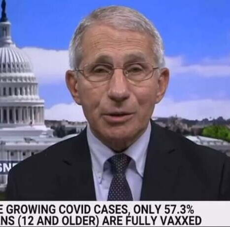 Megalomaniac Dr. Fauci Argues Unvaccinated People Are Going to Cause the Virus to Mutate into Deadly New Variant