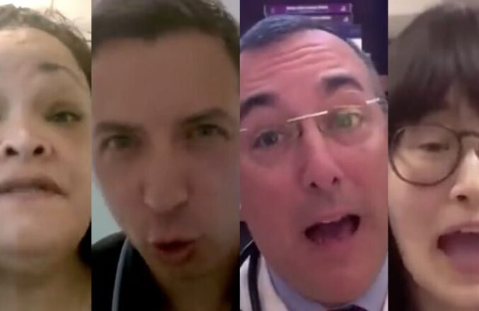 Latest COVID Vaccine PSA Is Just Doctors Yelling 'Shut The F**k Up' And 'Get The Vaccine'
