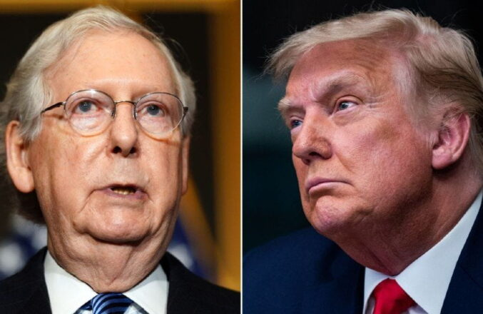 """""""RINOs are Ruining America, Right Alongside Communist Democrats"""" – President Trump SLAMS Mitch McConnell and Feckless Republicans"""