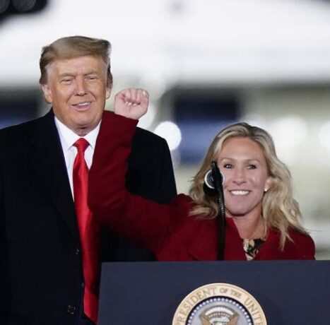 Reps. Matt Gaetz and Marjorie Taylor Greene Hit the Road for Trump