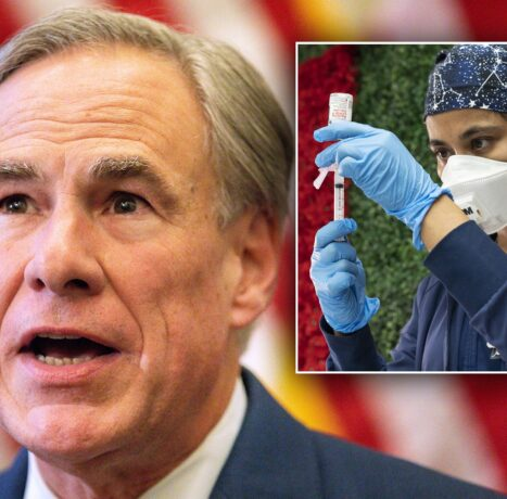 Texas Gov. Greg Abbott signs order banning COVID vaccine, mask mandates