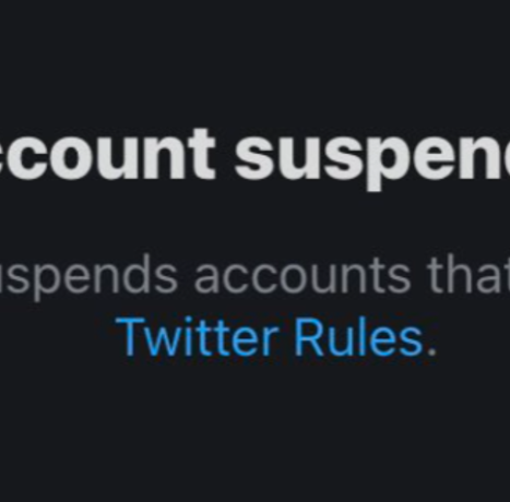Twitter Cannot Allow Americans To Know The Truth As They Shut Down One Audit Account After Another