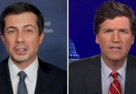 Forget supply chain crisis, Buttigieg takes to MSNBC to mock Carlson's knowledge of 'bottle feeding'